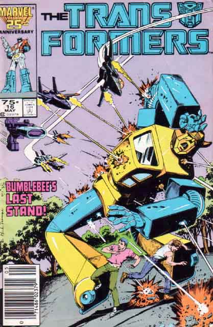 Transformers 16 - Plight of the Bumblebee! Image
