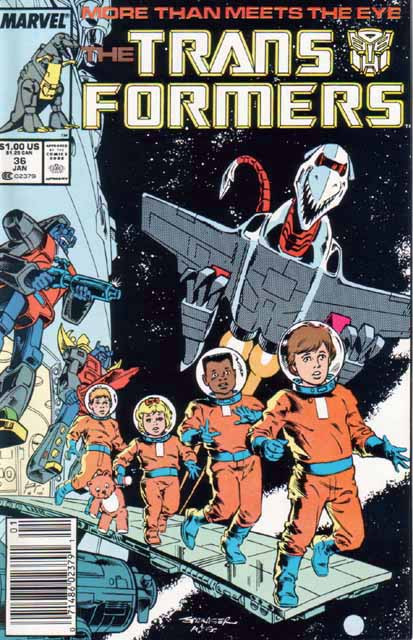 Transformers 36 - Spacehikers! Image