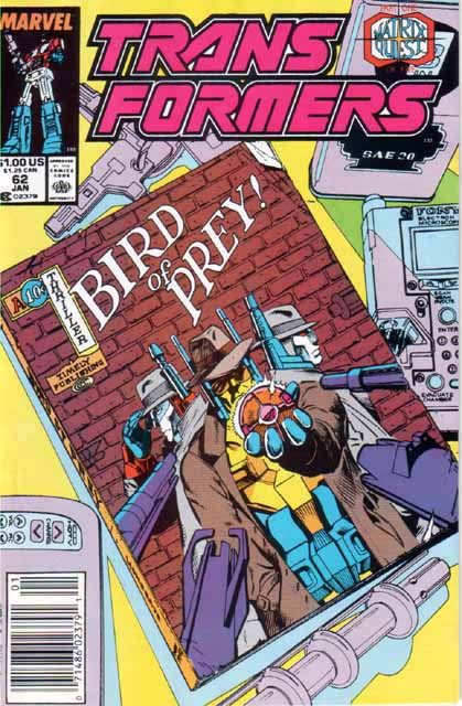Transformers 62 - Matrix Quest Part 1 - Bird of Prey! Image