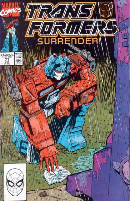Transformers 71 - Surrender! Image