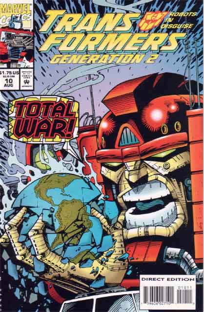 Transformers Generation 2 10 - Total War! Image