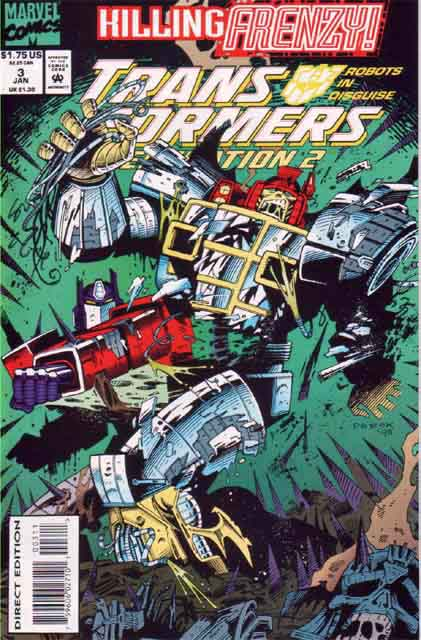 Transformers Generation 2 3 - Primal Fear Image