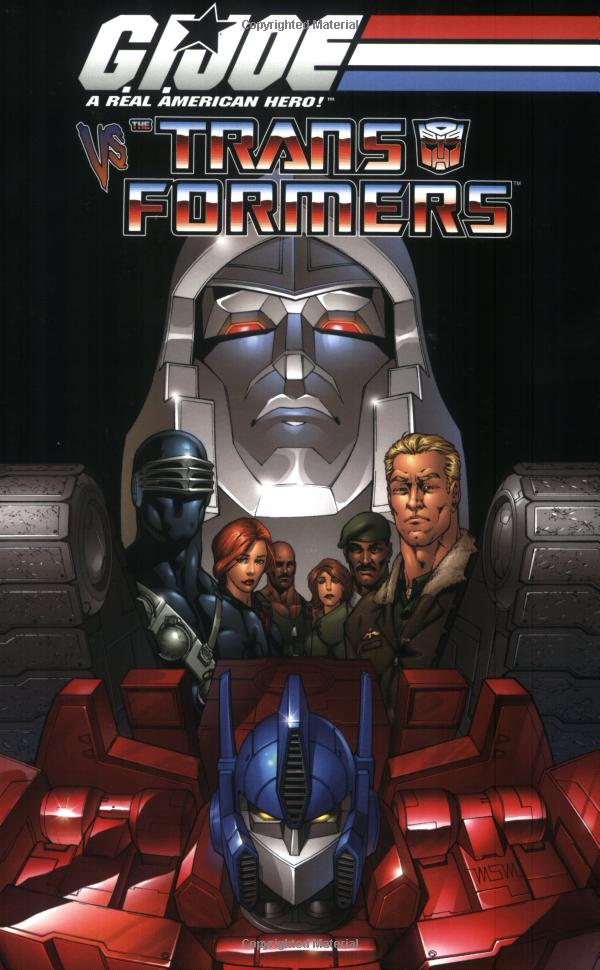 G.I. Joe Vs. Transformers Volume 1 TPB Image