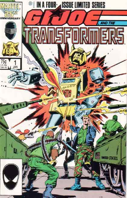 Transformers Vs. G.I. Joe 1 - Blood On The Tracks Image