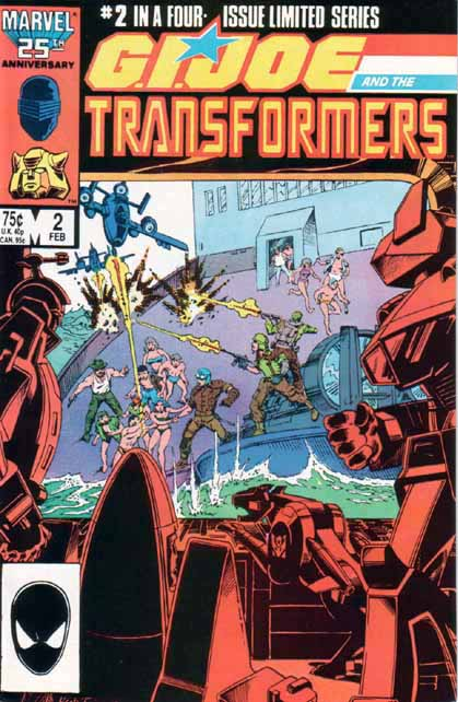 Transformers Vs. G.I. Joe 2 - Power Struggle Image