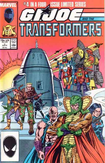 Transformers Vs. G.I. Joe 4 - All Fall Down! Image