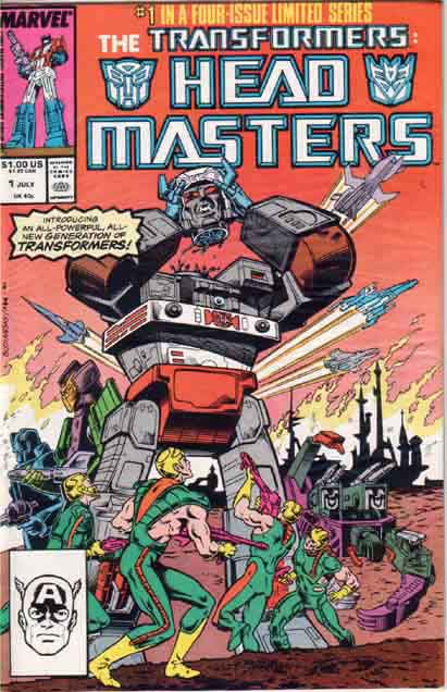 Transformers Headmasters 1 - Ring of Hate! Image