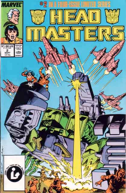 Transformers Headmasters 2 - Broken Glass! Image
