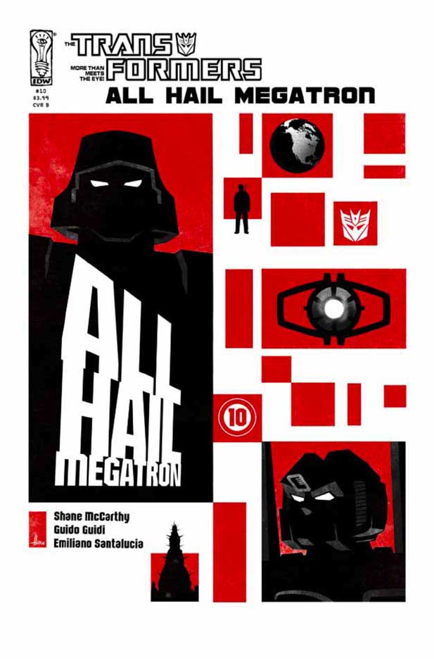 All Hail Megatron #10 Image