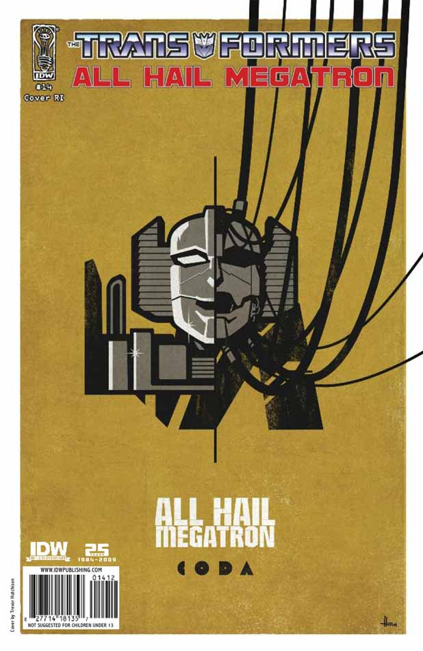All Hail Megatron #14 Image