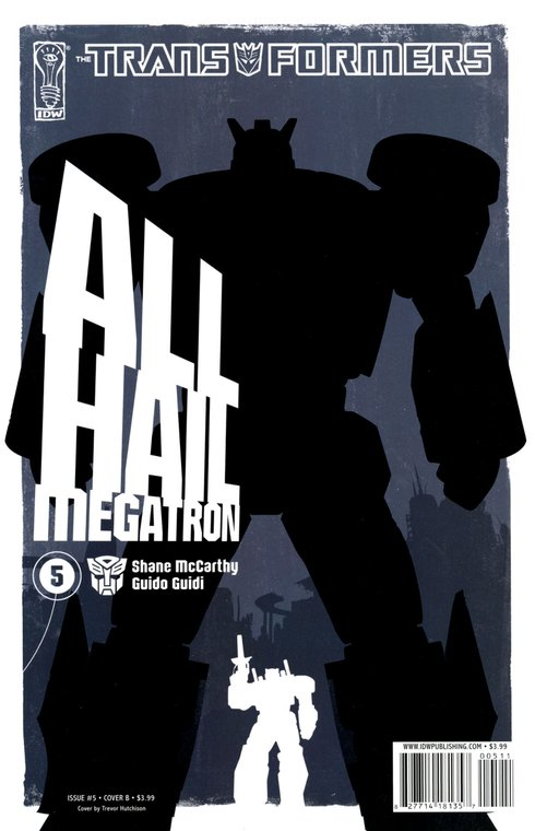 All Hail Megatron #5 Image
