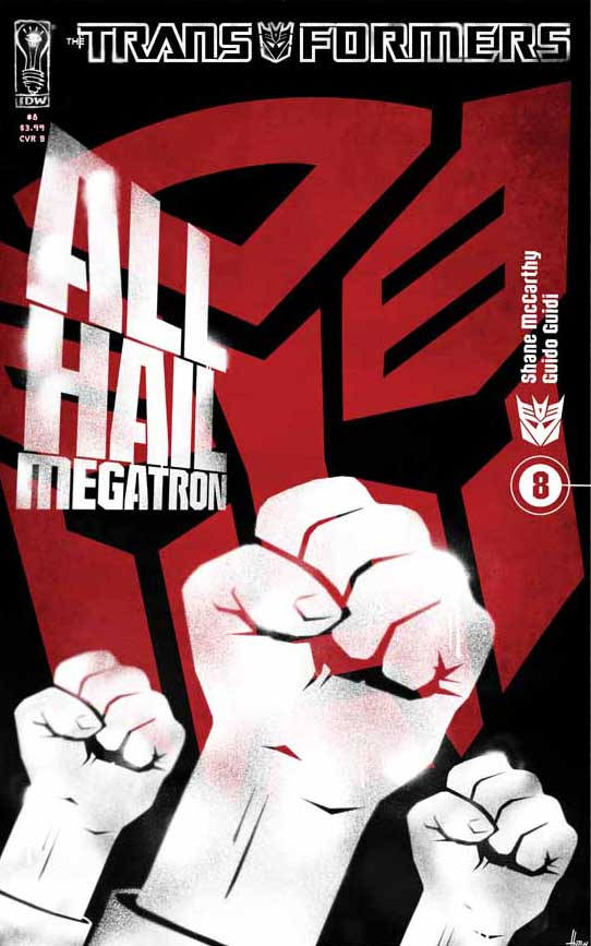 All Hail Megatron #8 Image