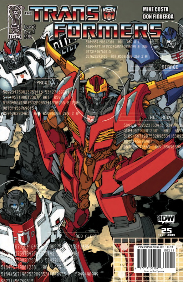 Transformers Ongoing #2 Image