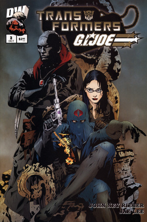 Transformers Vs GI Joe Volume 1 3 Image