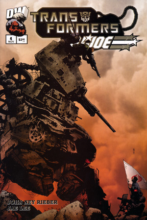 Transformers Vs GI Joe Volume 1 4 Image