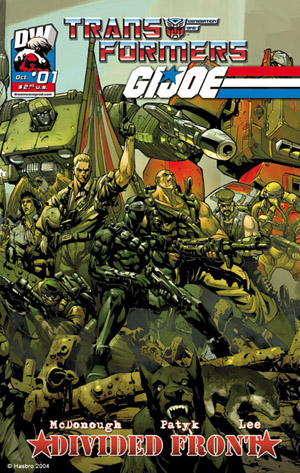Transformers Vs GI Joe Volume 2 1 Image