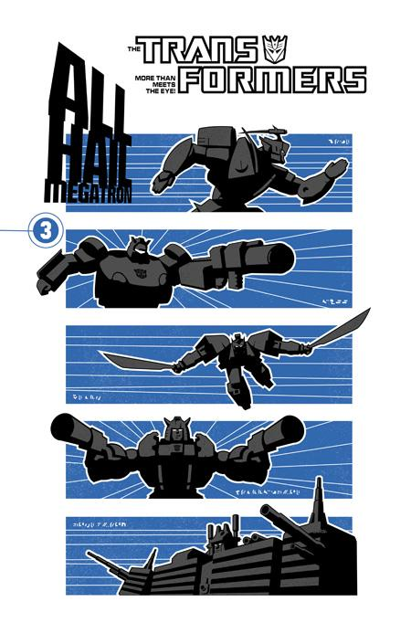 All Hail Megatron Volume 3 TPB Image