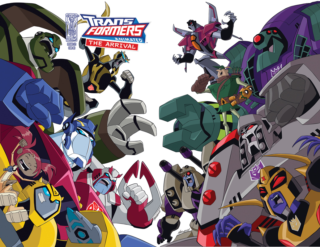 Transformers Animated 30 Years of Transforme...
