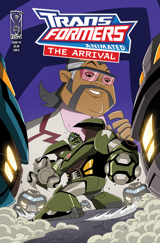 Animated: The Arrival #4 Image