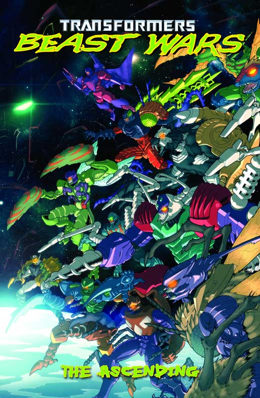 Beast Wars: The Ascending TPB Image