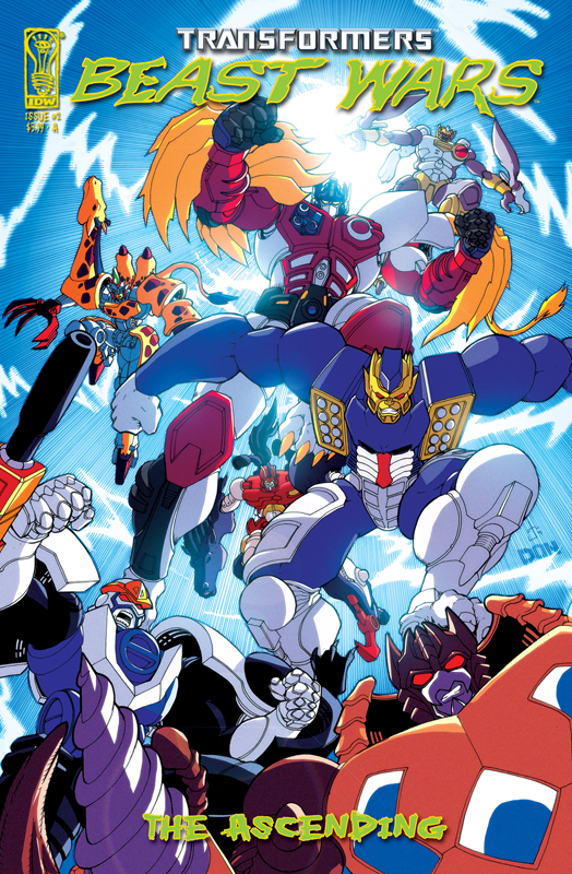 Beast Wars: The Ascending #2 Image