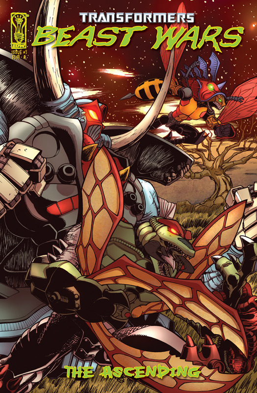 Beast Wars: The Ascending #3 Image