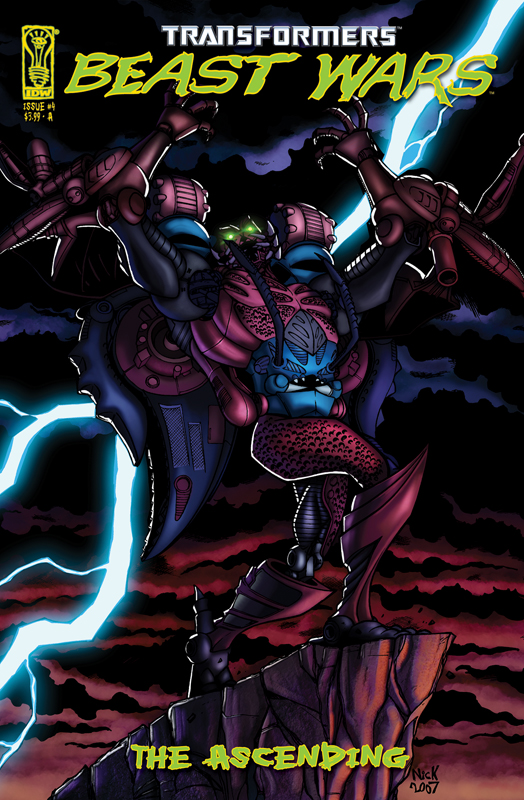 Beast Wars: The Ascending #4 Image