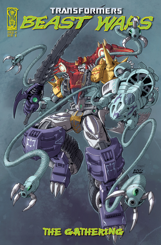 Beast Wars: The Gathering #1 Image