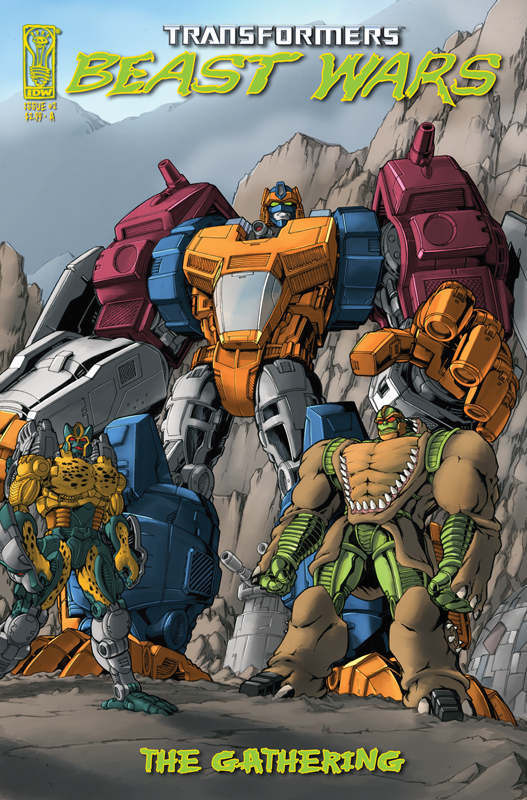 Beast Wars: The Gathering #2 Image