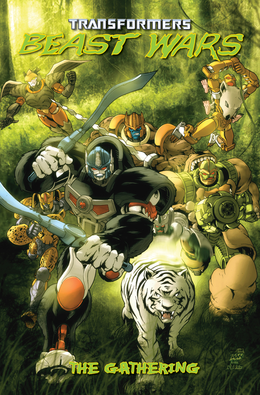 Beast Wars: The Gathering TPB Image