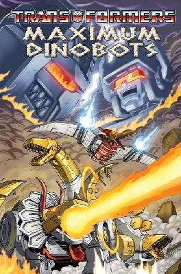 Maximum Dinobots TPB Image