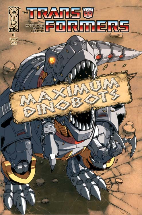 Maximum Dinobots #1 Image