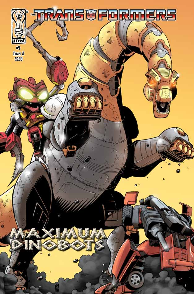 Maximum Dinobots #4 Image