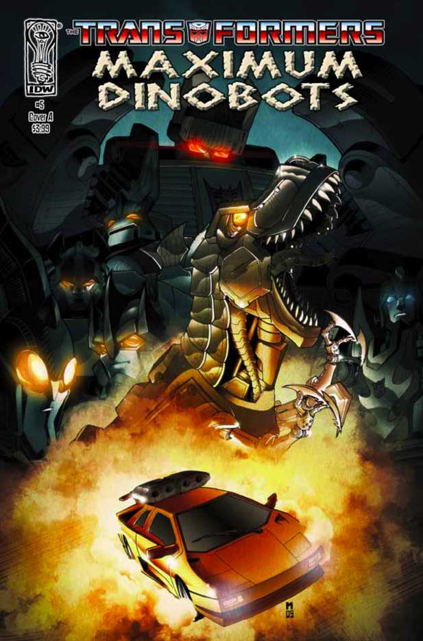 Maximum Dinobots #5 Image