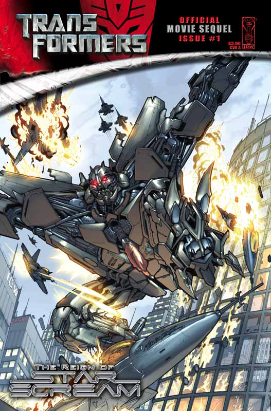 Movie Reign of Starscream #1 Image
