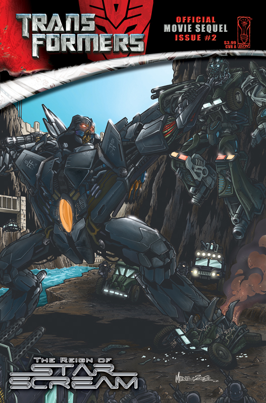 Movie Reign of Starscream #2 Image
