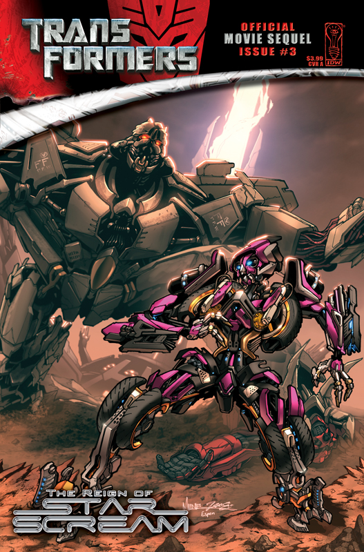 Movie Reign of Starscream #3 Image