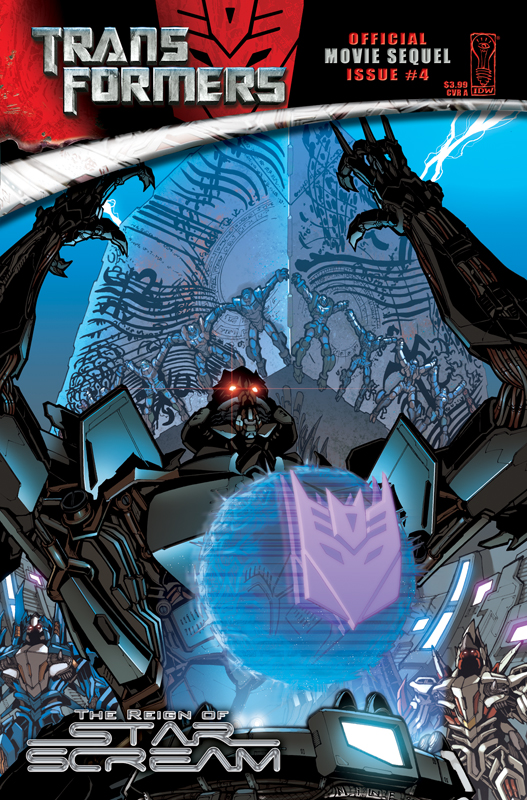Movie Reign of Starscream #4 Image