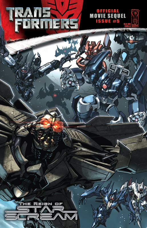 Movie Reign of Starscream #5 Image