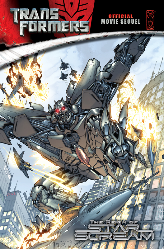 Movie Reign of Starscream TPB Image