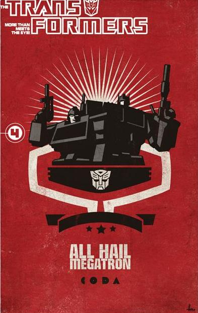 All Hail Megatron Volume 4 TPB Image