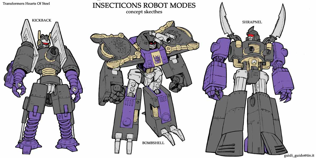 Transformers hearts of steel megatron
