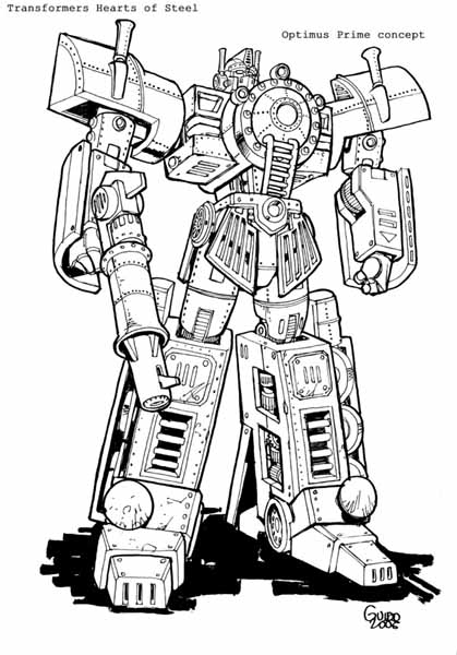 Hearts of Steel TPB - Transformers Comics - TFW2005