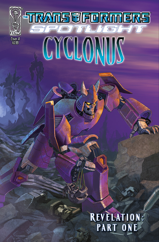Revelations, Part 1 - Spotlight Cyclonus Image