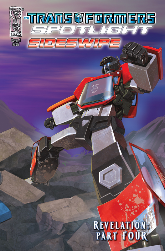 Revelations, Part 4 - Spotlight Sideswipe Image