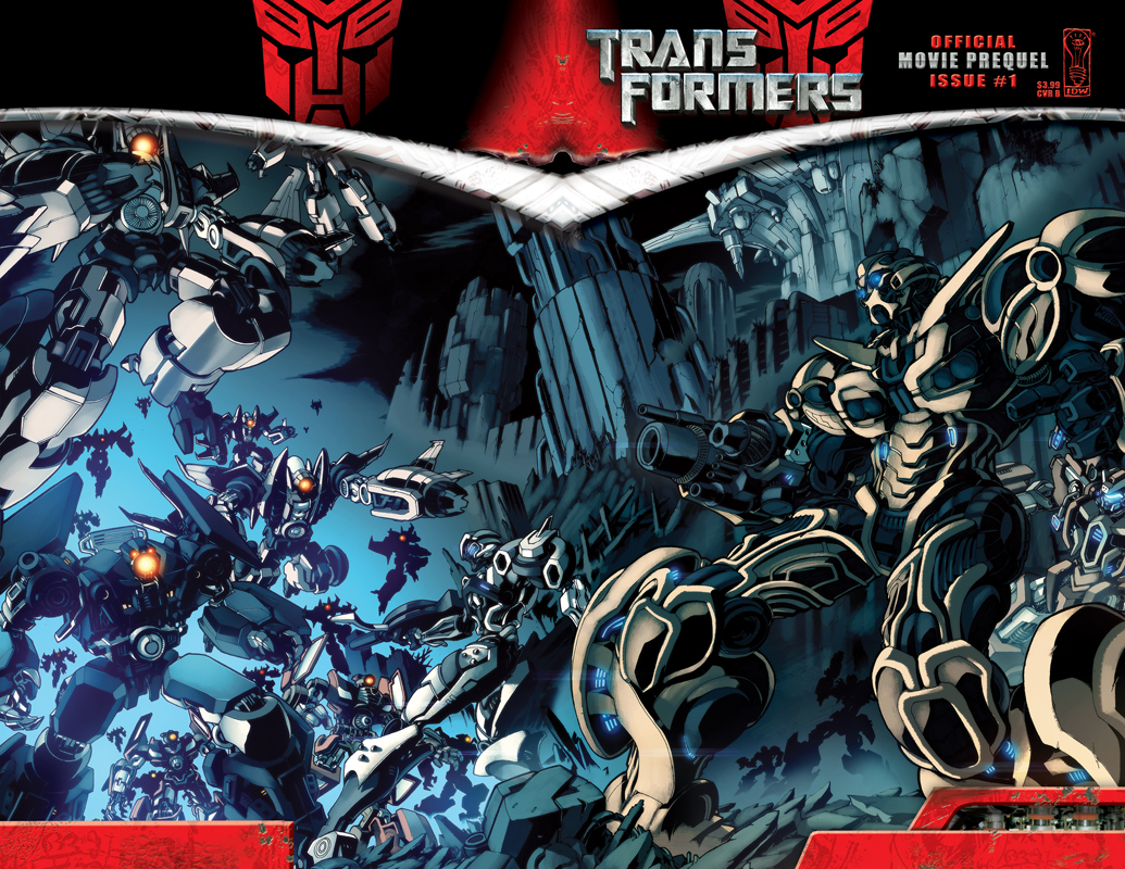 movie prequel #1 - transformers comics - tfw2005