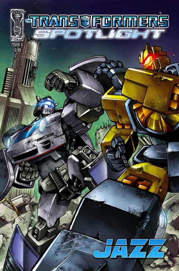 Transformers-Comics-Spotlight-Jazz-Cover-A Spotlight - Jazz