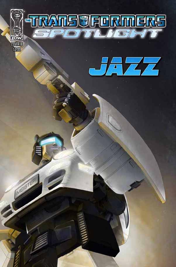 Transformers-Comics-Spotlight-Jazz-Cover-B Spotlight - Jazz
