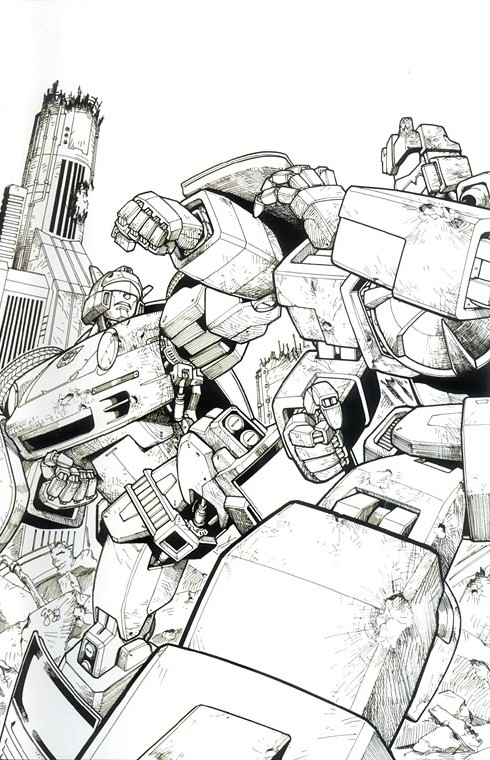 Transformers-Comics-Spotlight-Jazz-Cover-RI Spotlight - Jazz