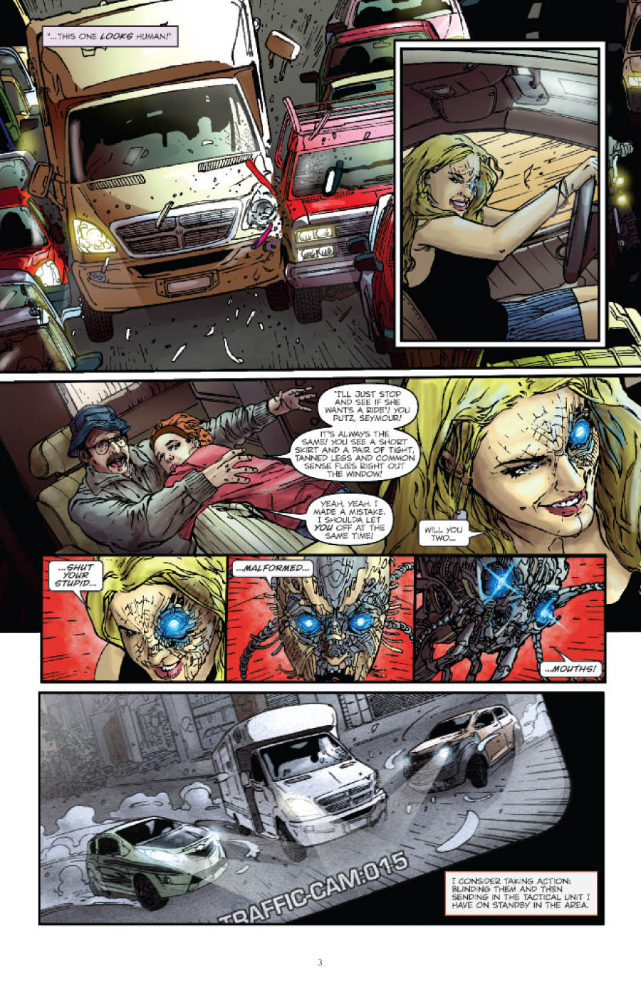 Transformers Optimus Prime Issue 1, Page 1 artwork - Transformers ...